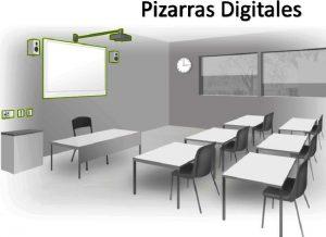 instalacion de proyectores aula completa