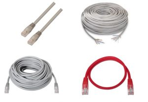 cables red,cat6,cat5,FTP,UTP,SSTP,SFTP