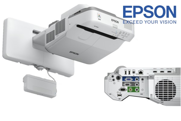 proyector epson eb696UI ultracorta interactivo