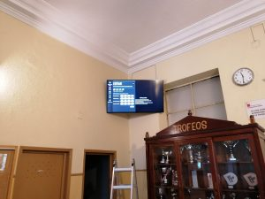 """instalacion monitor lg 55 """" webos"""