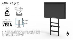 MIP FLEX dimasa,soporte,monitor,calidad