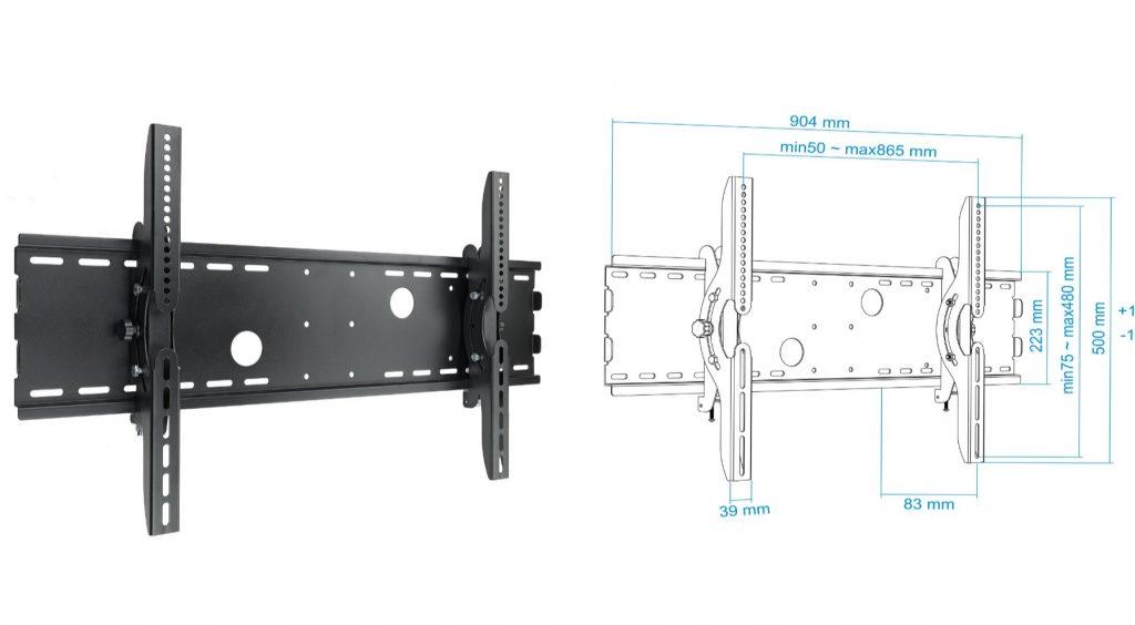 soporte tv /monitor LP4970T-B