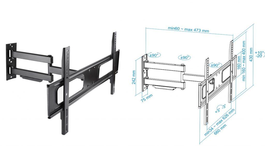 soporte tv /monitor LP6070TN-B