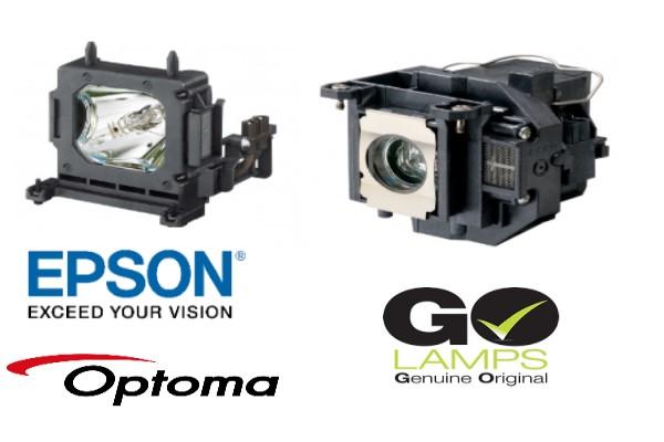 lamparas originales y compatibles todas las marcas epson optoma benq nec