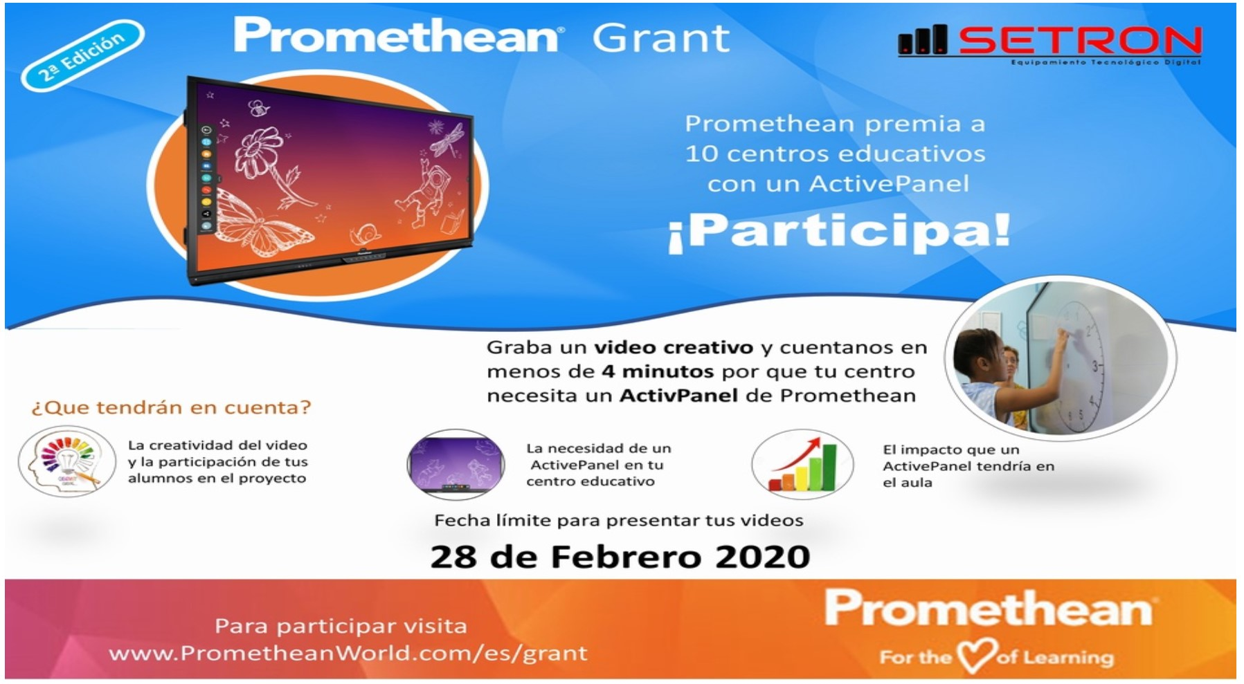 promethean grant monitor promethean