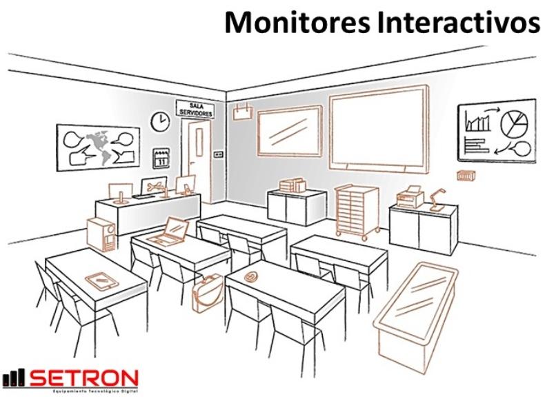 monitores,instalacion,promethean,aula,todo,