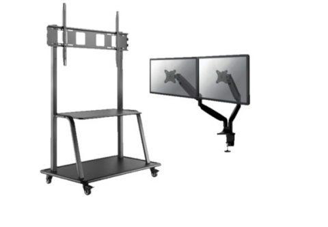 soporte,proyector,monitor,ruedas,regulable,motorizado