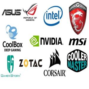 marcas,asus,msi,nvidia,zotac,cooler master,intelrepublic of games