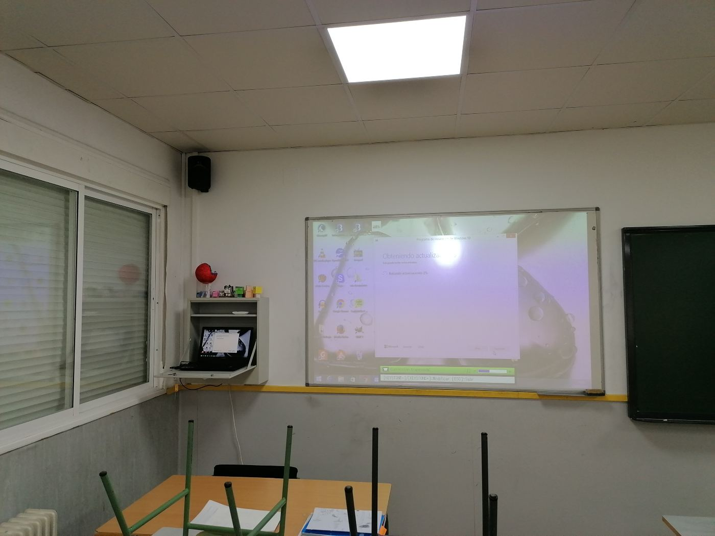 mantenimiento aulas