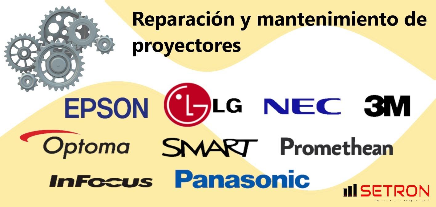 reparacion de proyectores y mantenimiento