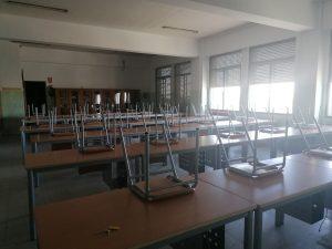 instalacion mobiliario aulas