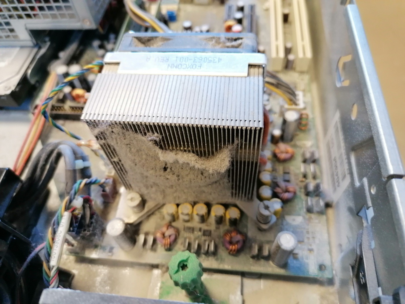 Mal mantenimiento de equipos informaticos