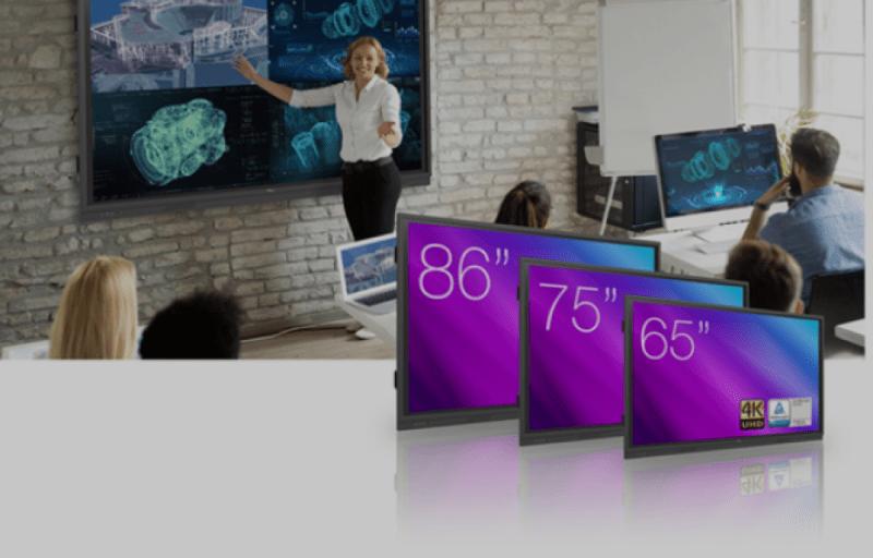 Noticia optoma monitores interactivos