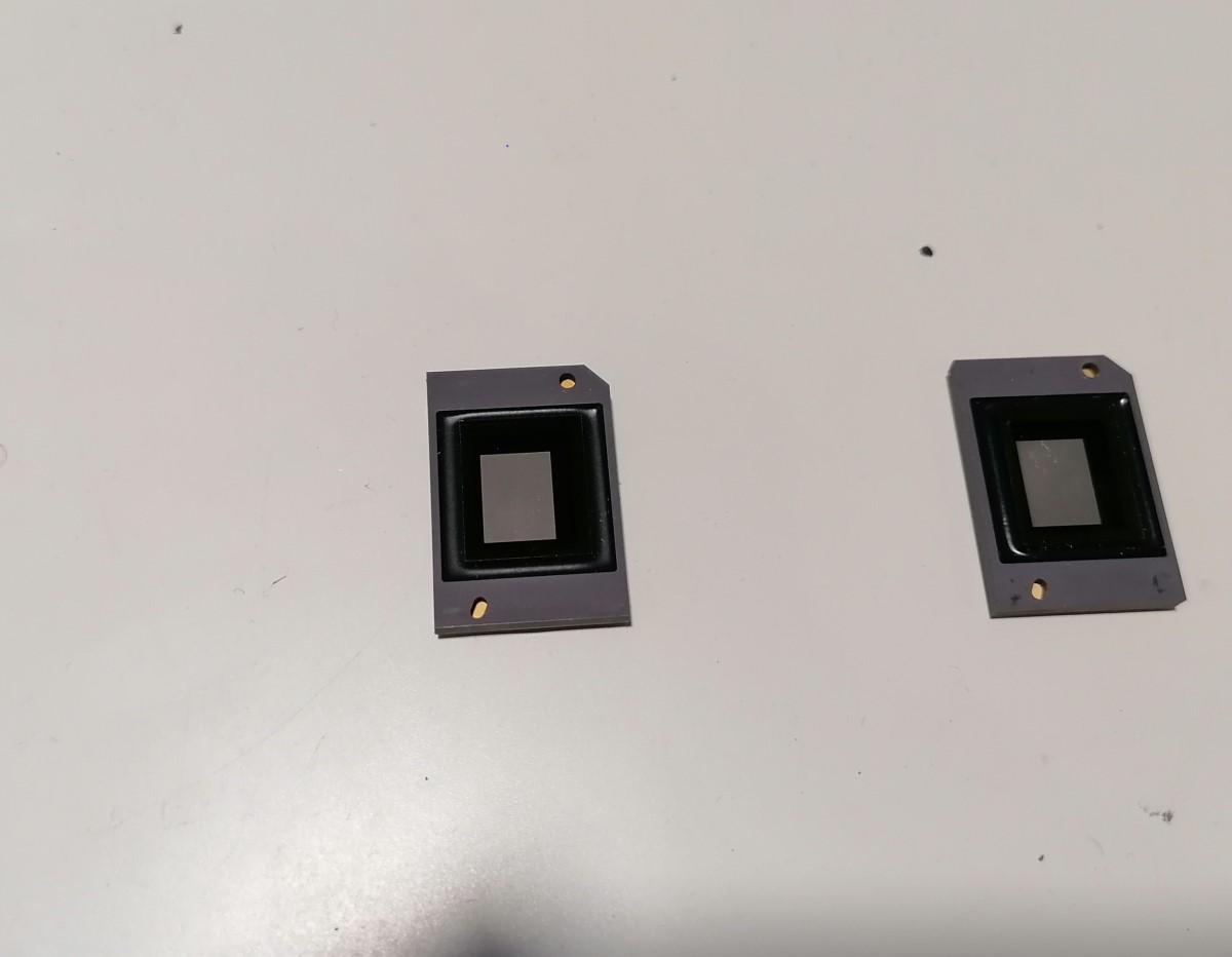 Reparacion proyector chip dmd