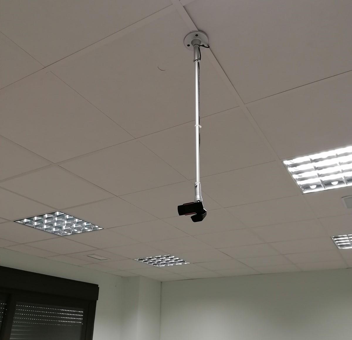 Instalación de varias cámaras a techo