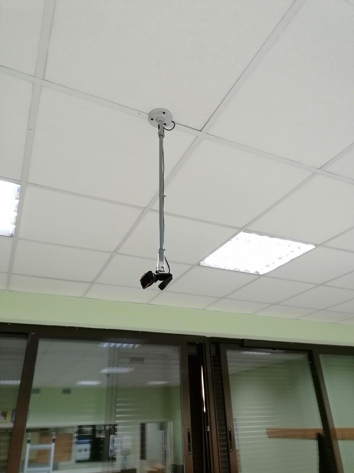 instalacion camaras a techo