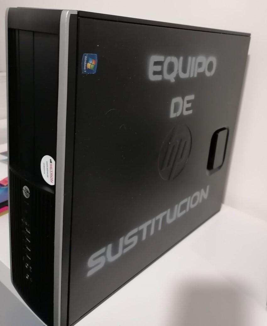 Equipo de sustitución Hp 8300 8Gb 240 gb SSd