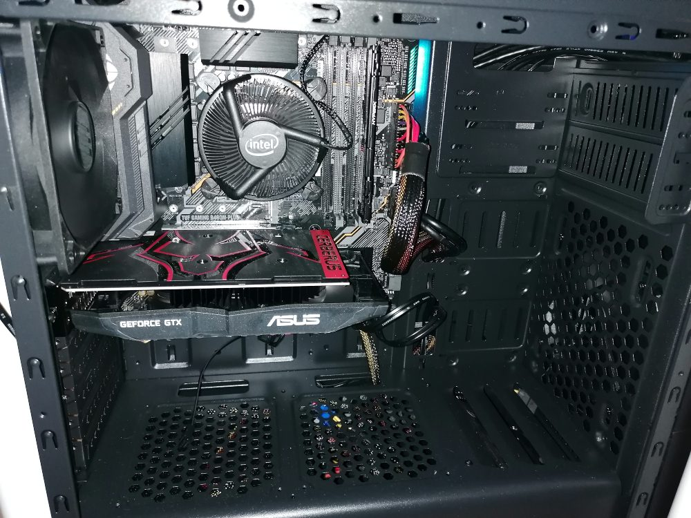 Equipo Gaming Setron Core I7 16 Gb RAM 4Gb Grafica