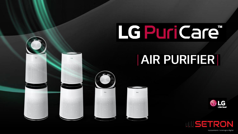 Purificador de aire LG
