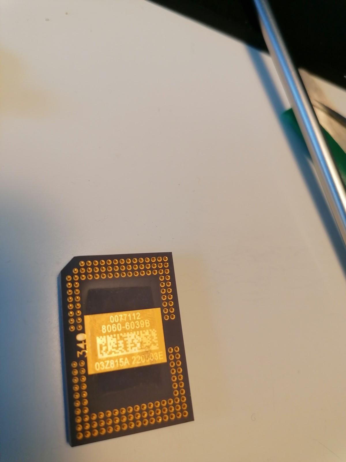 Cambio de Chip DMD