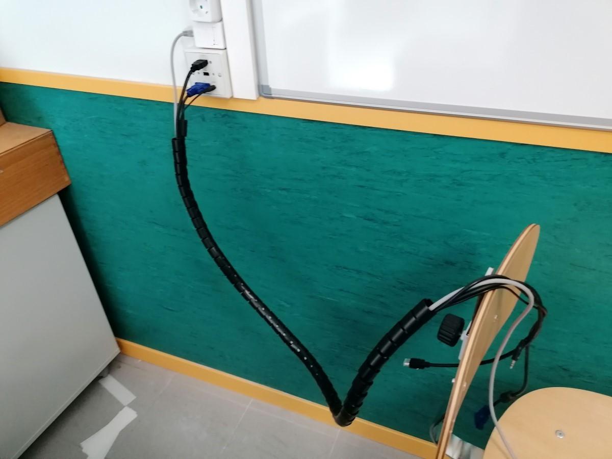 Instalación proyector Epson EB-E20