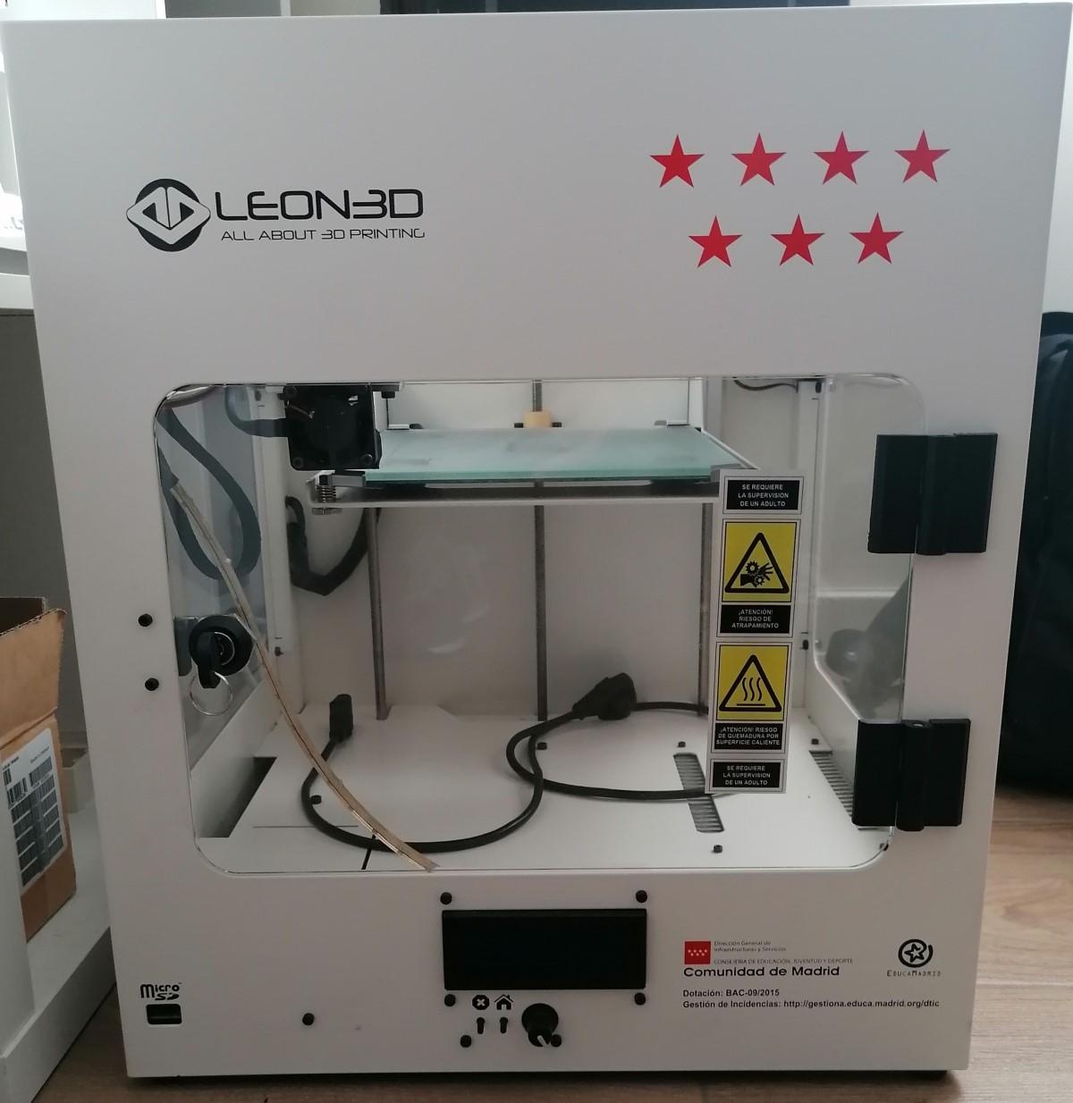 Reparacion Impresora Leon 3D