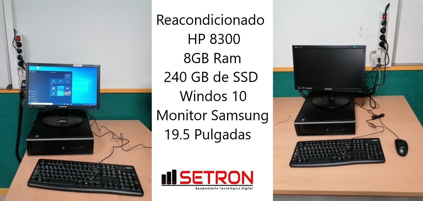 Reacondicionado HP 8300 8 GB