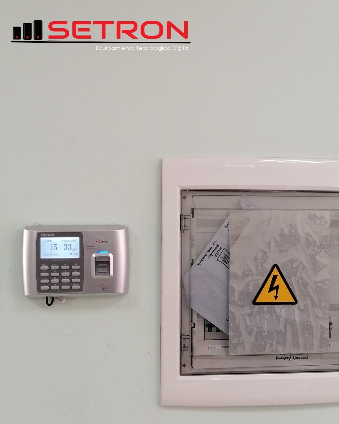Instalación control acceso