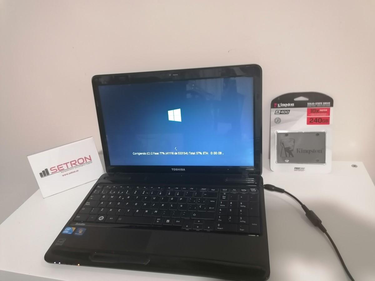 Cambio disco Toshiba L650