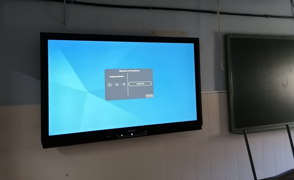 Carmenta monitor PrometheanCarmenta monitor Promethean
