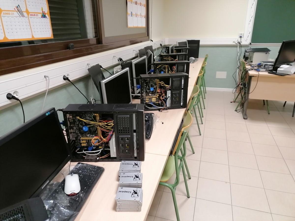 Mantenimiento aula informática