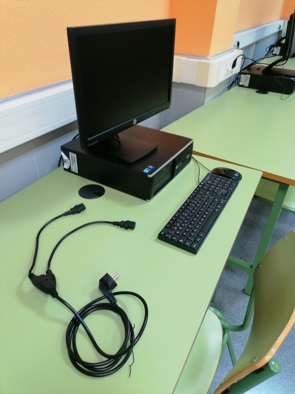 Mantenimiento aula de informatica